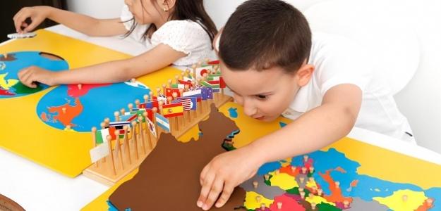 Učte deti spoznávať svet podľa Montessori