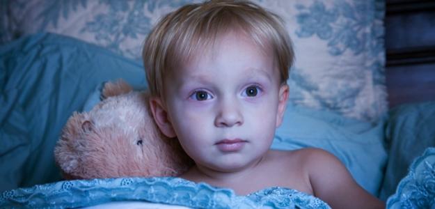 Čas na spánok v detskej izbe
