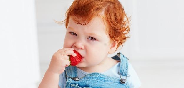 dojčenské recepty, príkrmy, jarné recepty, jahoda