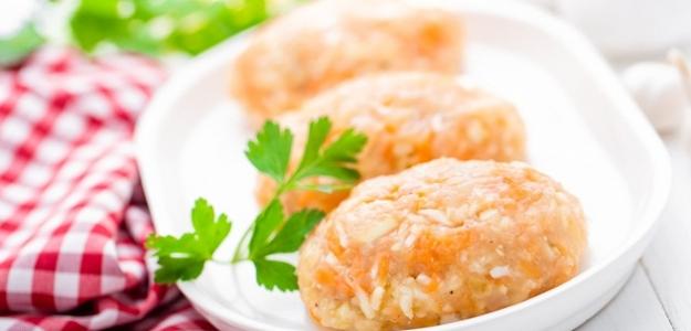 Kurací krém s ryžou