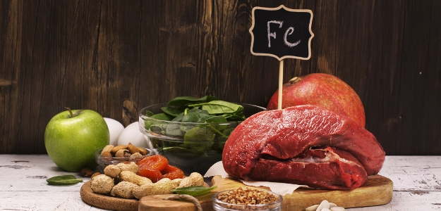 anémia, železo, chudokrvnosť, krv, strava, potraviny obsahujúce železo