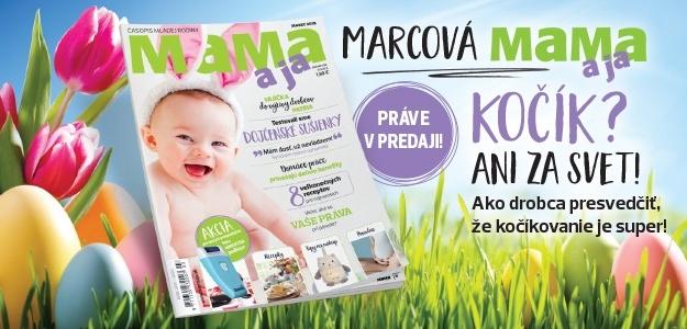 Marcová MAMA a ja PRÁVE v PREDAJI!
