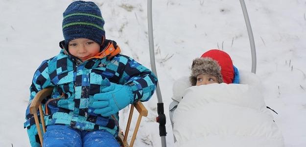 Mama v zahraničí: Milujeme zimu