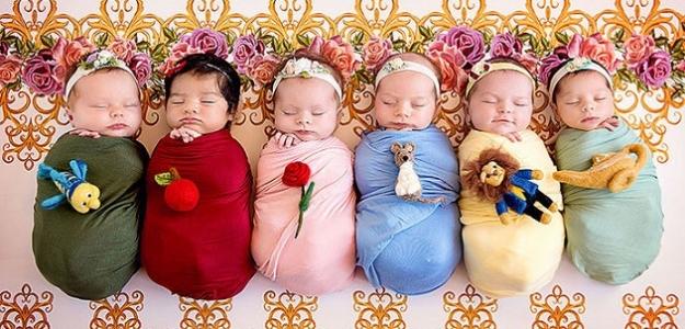 Fotogaléria: Roztomilé bábätká ako Disney princezné