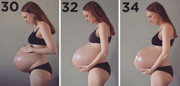 Neuveriteľné: Takto rastie rastie bruško mamy s trojičkami