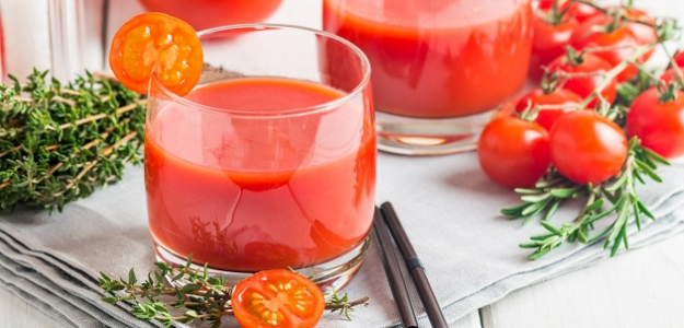 Paradajková šťava: TOP nápoj pre vaše zdravie