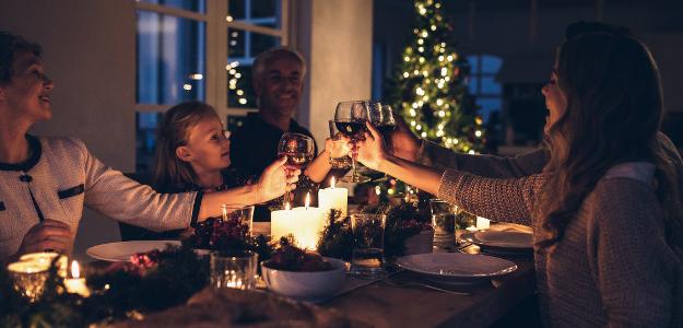 Vianoce, deti, alkohol, prípitok
