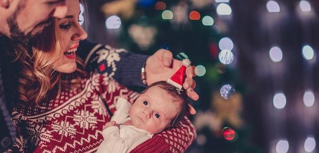 Ako prežiť Vianoce i hlučný Silvester s bábätkom
