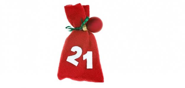 21. december - Jablkové svietniky