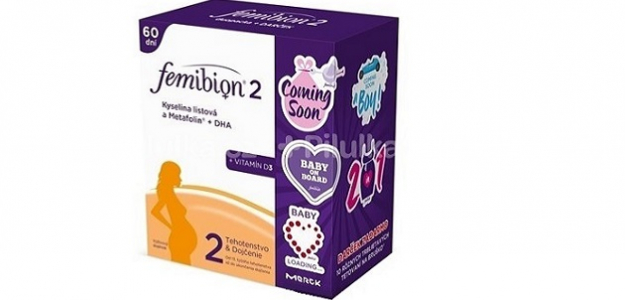 SÚŤAŽ: Vyhrajte dvojbalenie Femibion® s darčekom - tetovačkami na bruško