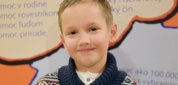 Detský čin roka:  Maxim je chlapec s veľkým srdcom