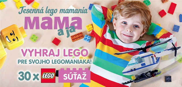 Pozor, súťaž!!! Jesenná LEGO MAMANIA!