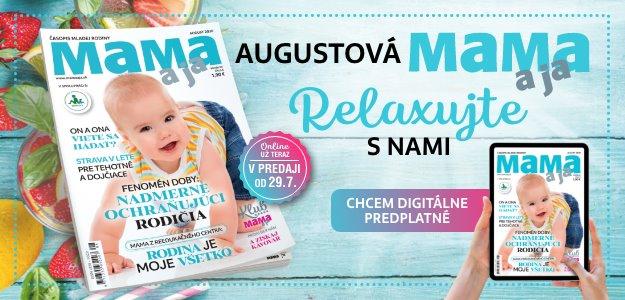 AUGUSTOVÁ MAMA a ja - 116 strán kvalitného čítania