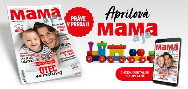 Buďte IN s aprílovou MAMA a ja