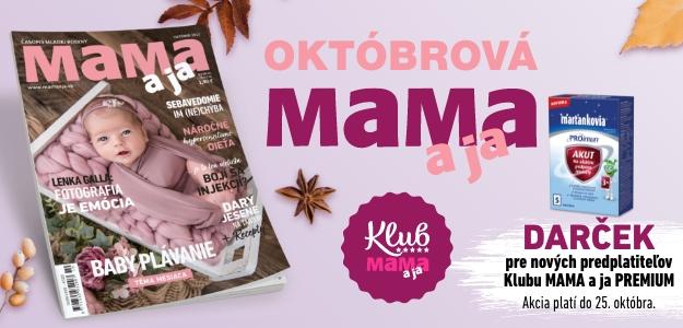 OKTÓBROVÁ MAMA a ja: Inšpiratívna, energická + dobre naladená, ako všetky mamy