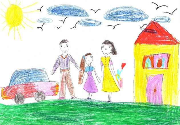 Kresba Rodiny Prezradi Veľa O Pocitoch Dietata Batoľa Clanky