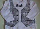 Tričko dlhý rukáv - 74
