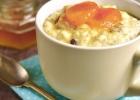 Tortička z ryže a ovocia