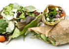 Wrap so zeleninou a kuracím mäsom
