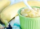 Kukuričná kaša s banánom