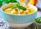 Zeleninová polievka s morčacím mäsom