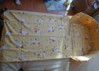 Obliečky s hniezdom, plachtami a vankúšikom vzor kačička