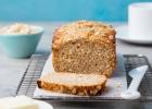Chlebík s tekvicou, vločkami a orechmi