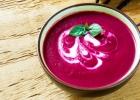 Krémová cviklová polievka