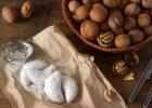 Vanilkové rožky s orechami