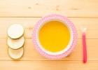 Mrkvová polievka s cuketovými rezancami
