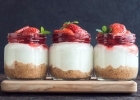 CHIA ovocno-jogurtové koláčiky