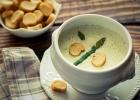 Krémová polievka so šafranom