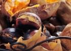 Pečené gaštany so zemiakmi
