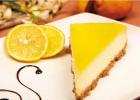 Nepečený citrónový zákusok