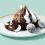 Mrazená tortička z čokolády a kokosu