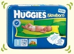 Zľava na plienky Huggies