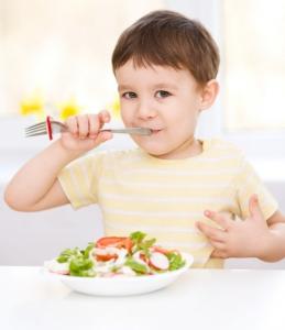 Dieťa vegetarián