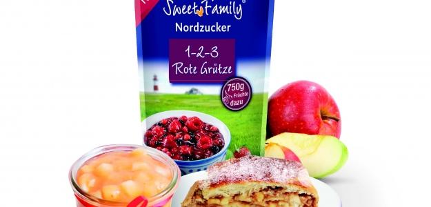 Ozvláštnite si prípravu vašich dezertov ako aj vaše pečenie so SweetFamily 1-2-3 Rote Grütze