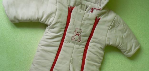 Detská kombinéza na zimu - 68-74a fusak