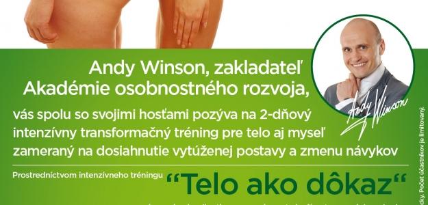 Vyhrajte vstup na dvojdňový intenzívny tréning akcie Telo ako dôkaz!