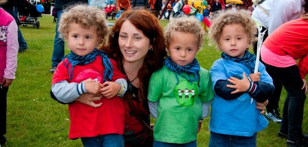 Dvojčatá a trojčatá sa opäť stretnú vo Valčianskej doline
