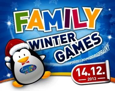 Family winter game - Mikulášsky event