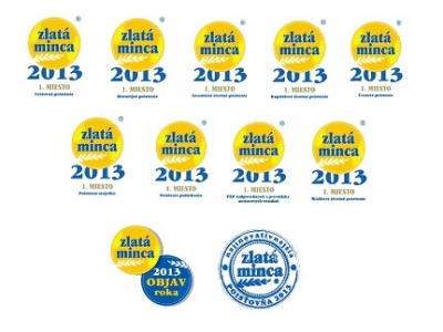 Všetky nominované produkty Allianz – SP získali Zlatú mincu 2013