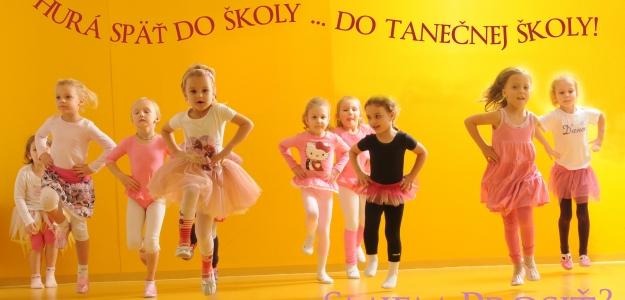 Vstúpte do tanečnej školy Mirky Kosorínovej! - nové zápisy!