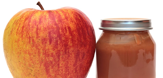 Domáca jablková výživa