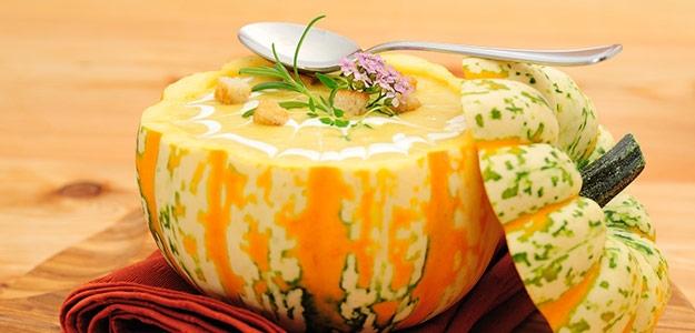 Tekvicová krémová polievka