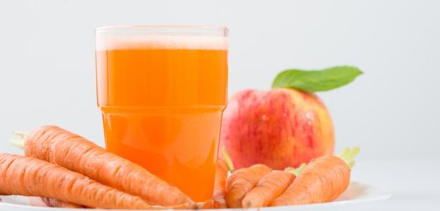 Ovocno-mrkvová šťava