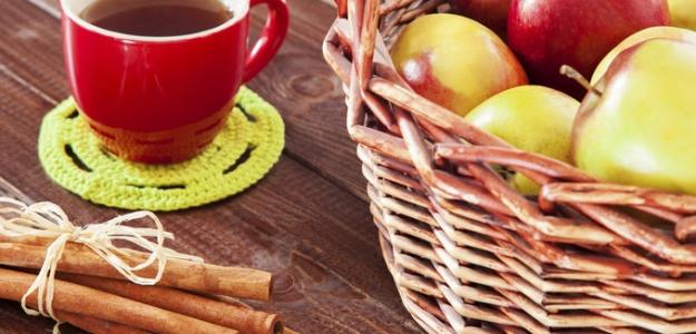 Čaj z jablka a hrušky