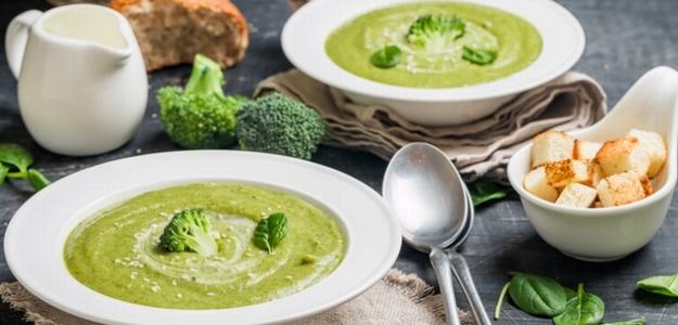 Brokolica s vločkami