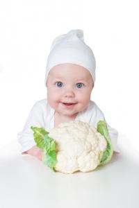 Karfiol s posýpkou a zemiakom